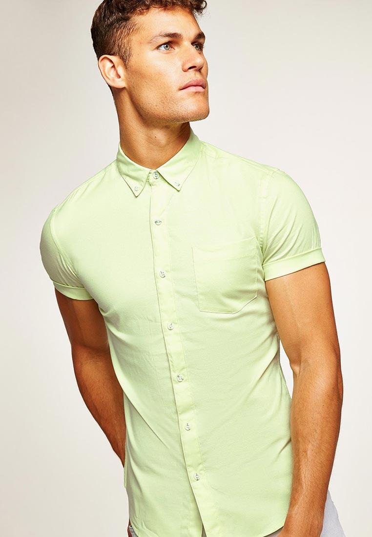 Рубашка с коротким рукавом Topman (Топмэн) 83P09PGRN