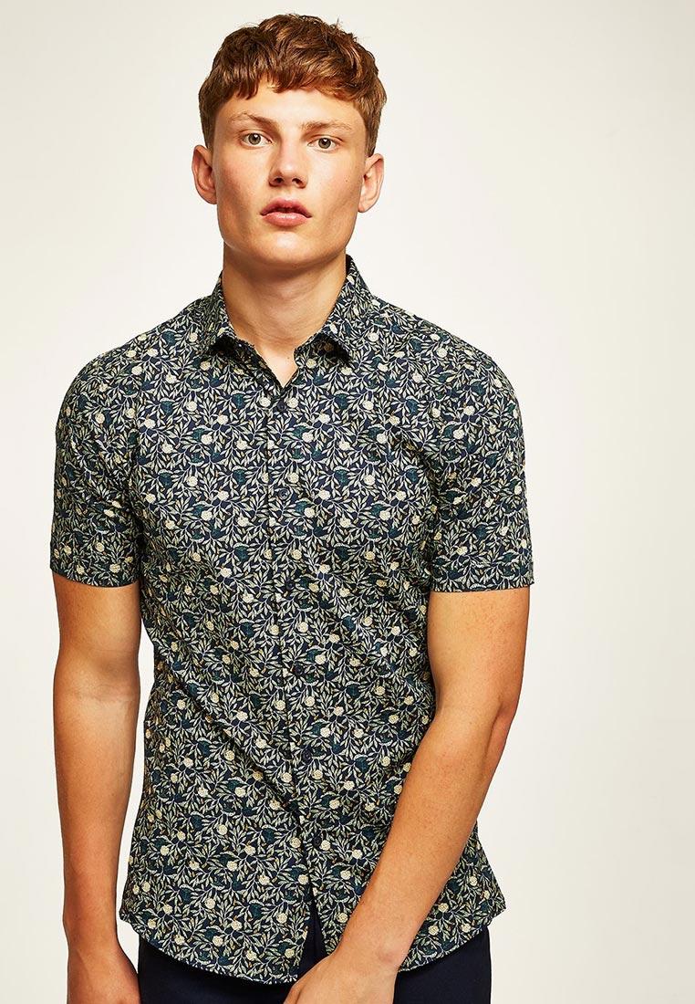 Рубашка с коротким рукавом Topman (Топмэн) 84B10PNAV