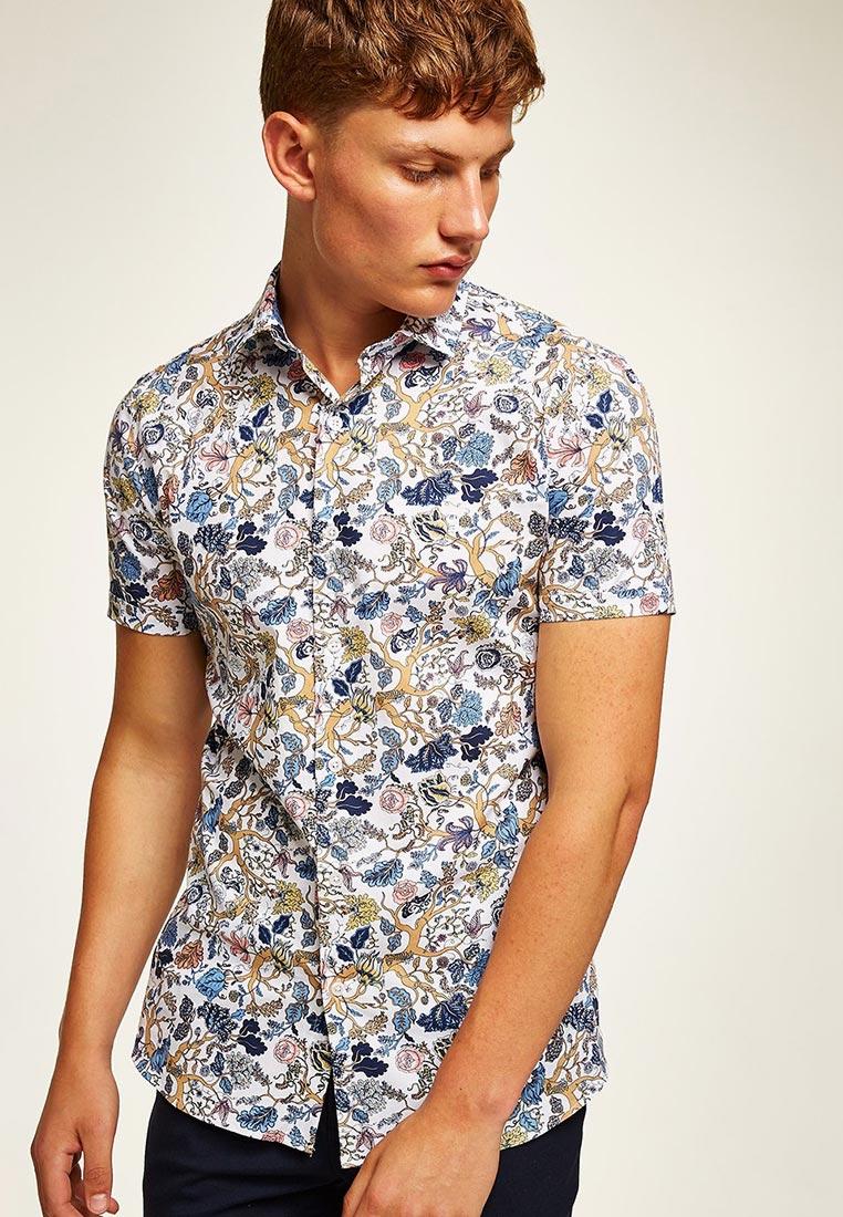 Рубашка с коротким рукавом Topman (Топмэн) 84B15PWHT