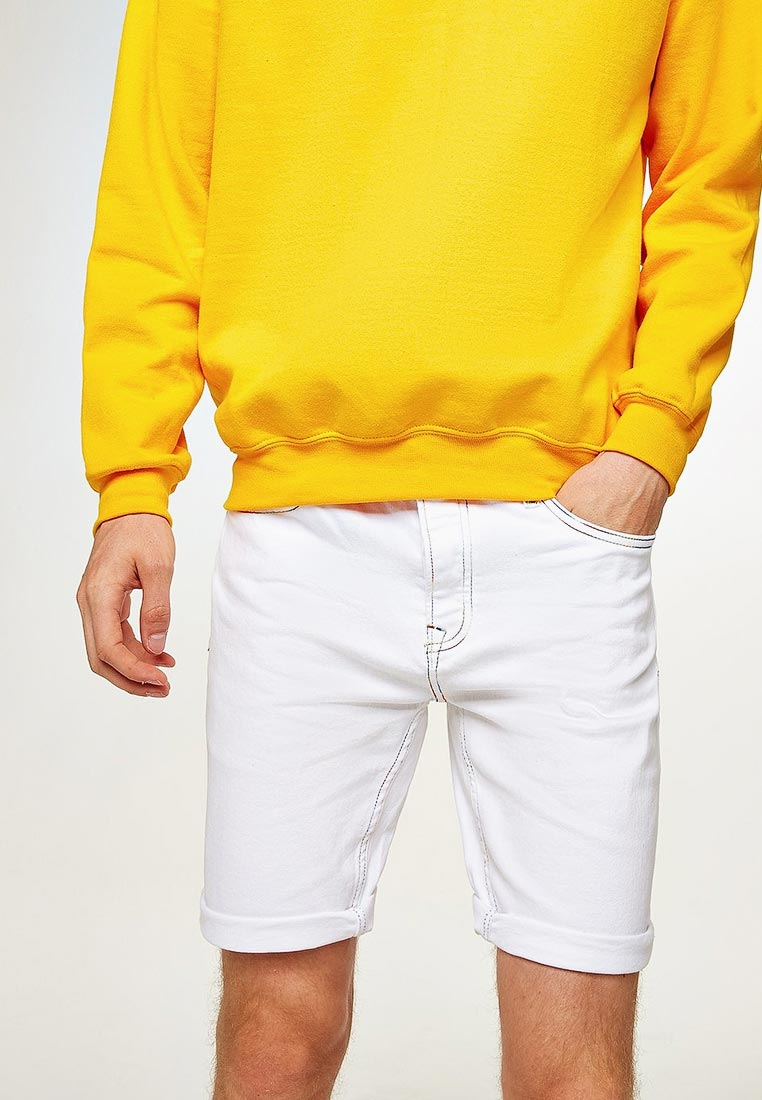 Мужские джинсовые шорты Topman (Топмэн) 33C21PWHT