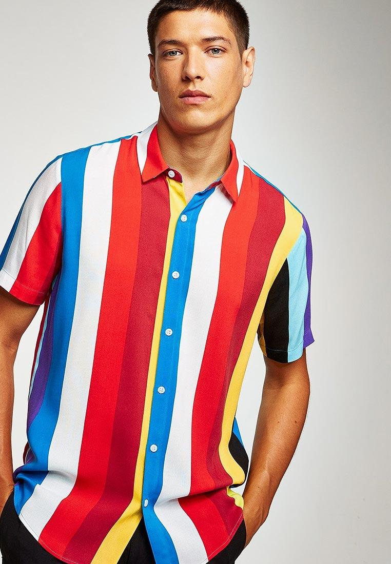 Рубашка с коротким рукавом Topman (Топмэн) 83D80PMUL
