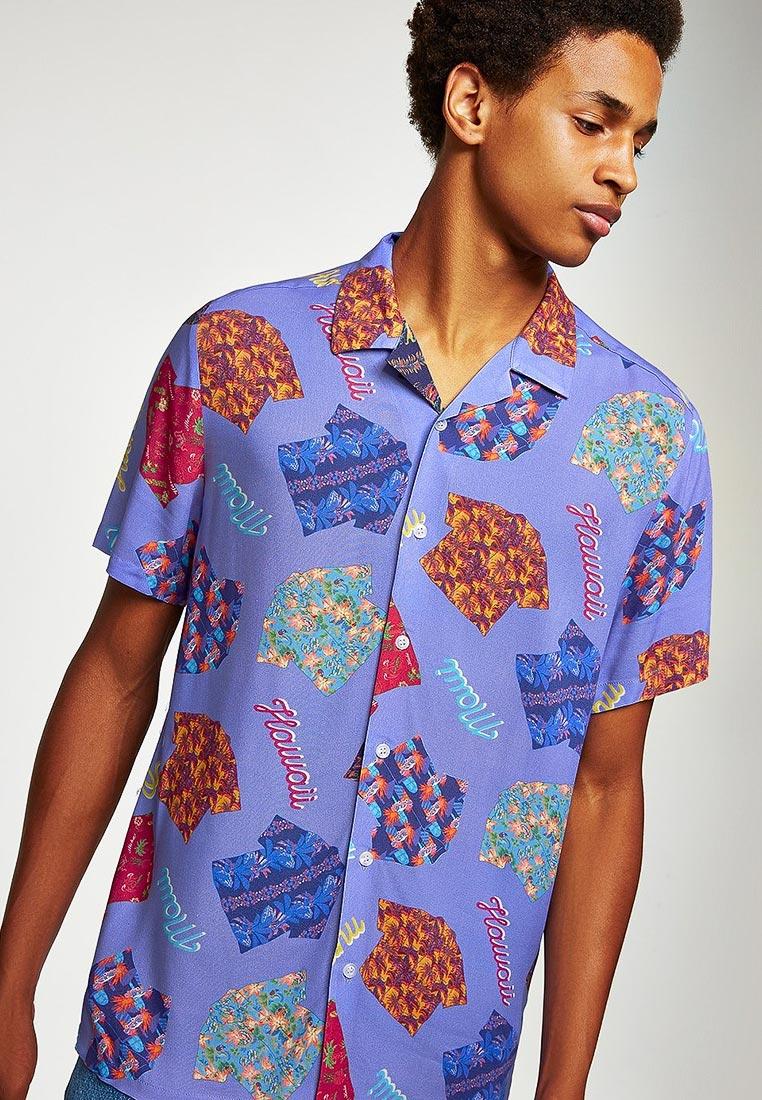 Рубашка с коротким рукавом Topman (Топмэн) 83D85PMUL