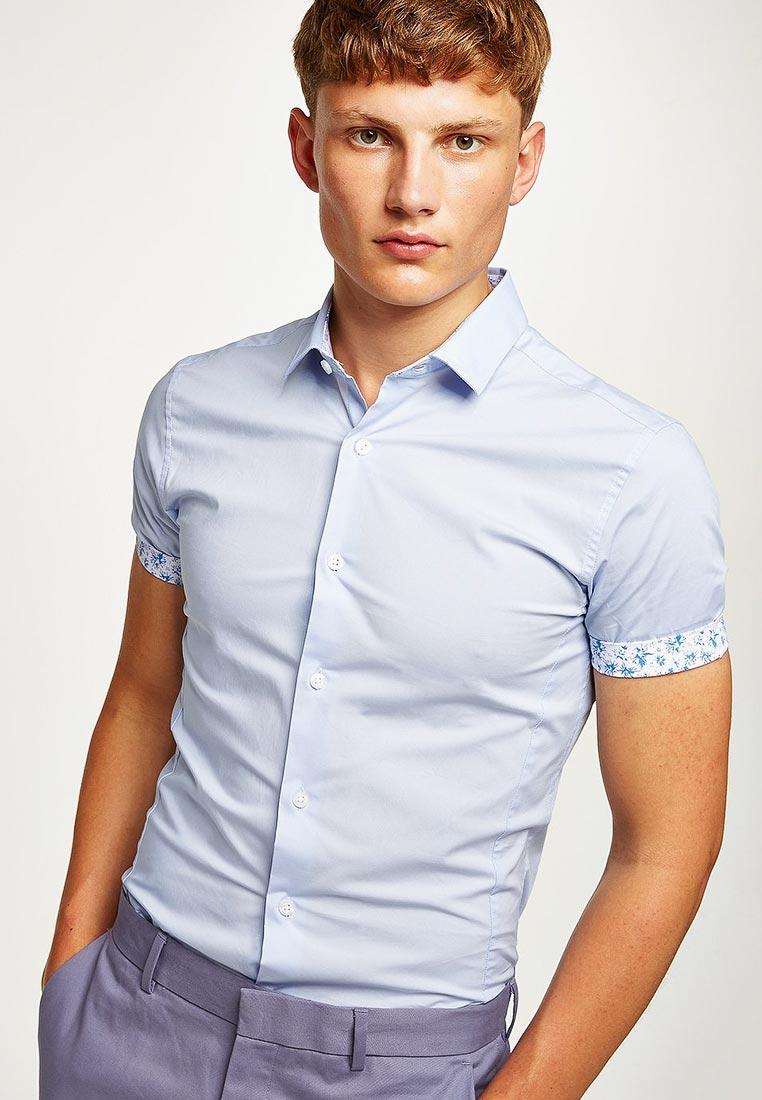 Рубашка с коротким рукавом Topman (Топмэн) 84A05PLBL