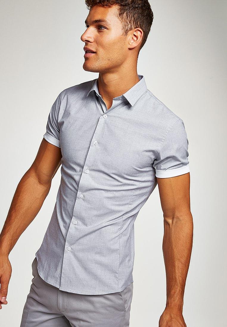 Рубашка с коротким рукавом Topman (Топмэн) 84A08PGRY