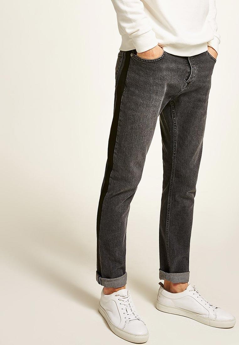 Зауженные джинсы Topman (Топмэн) 69B02QWBL