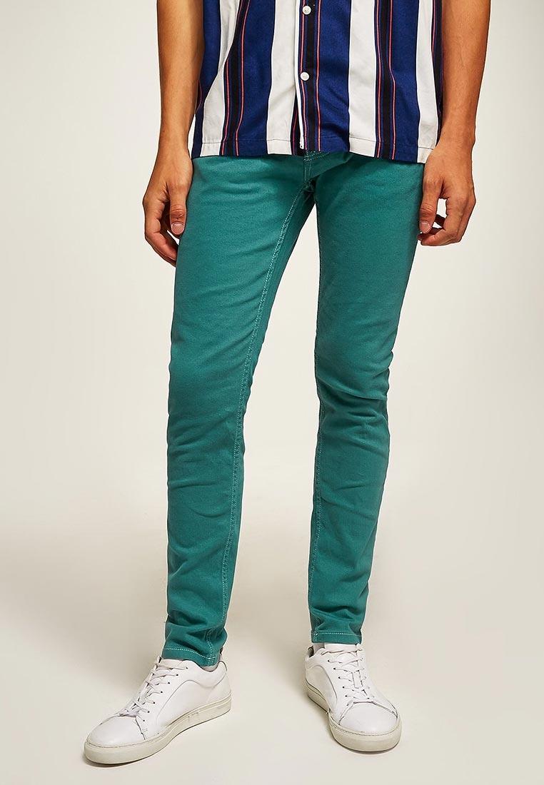 Мужские повседневные брюки Topman (Топмэн) 69B20QGRN