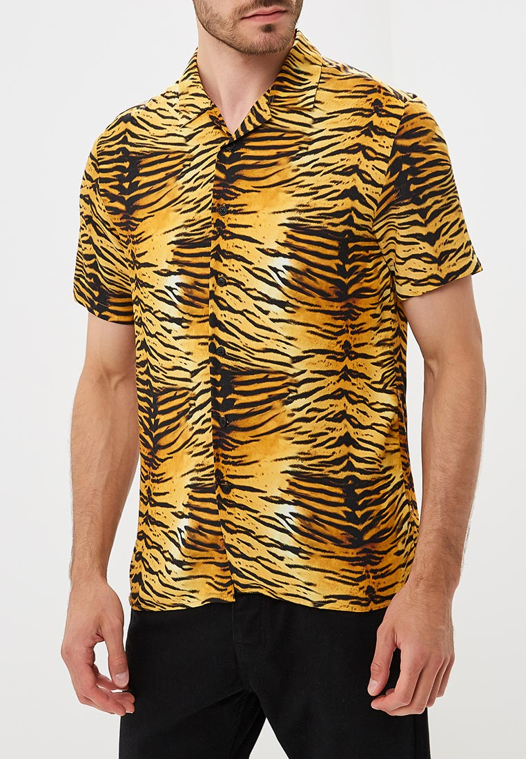 Рубашка с коротким рукавом Topman (Топмэн) 83D41PMUL