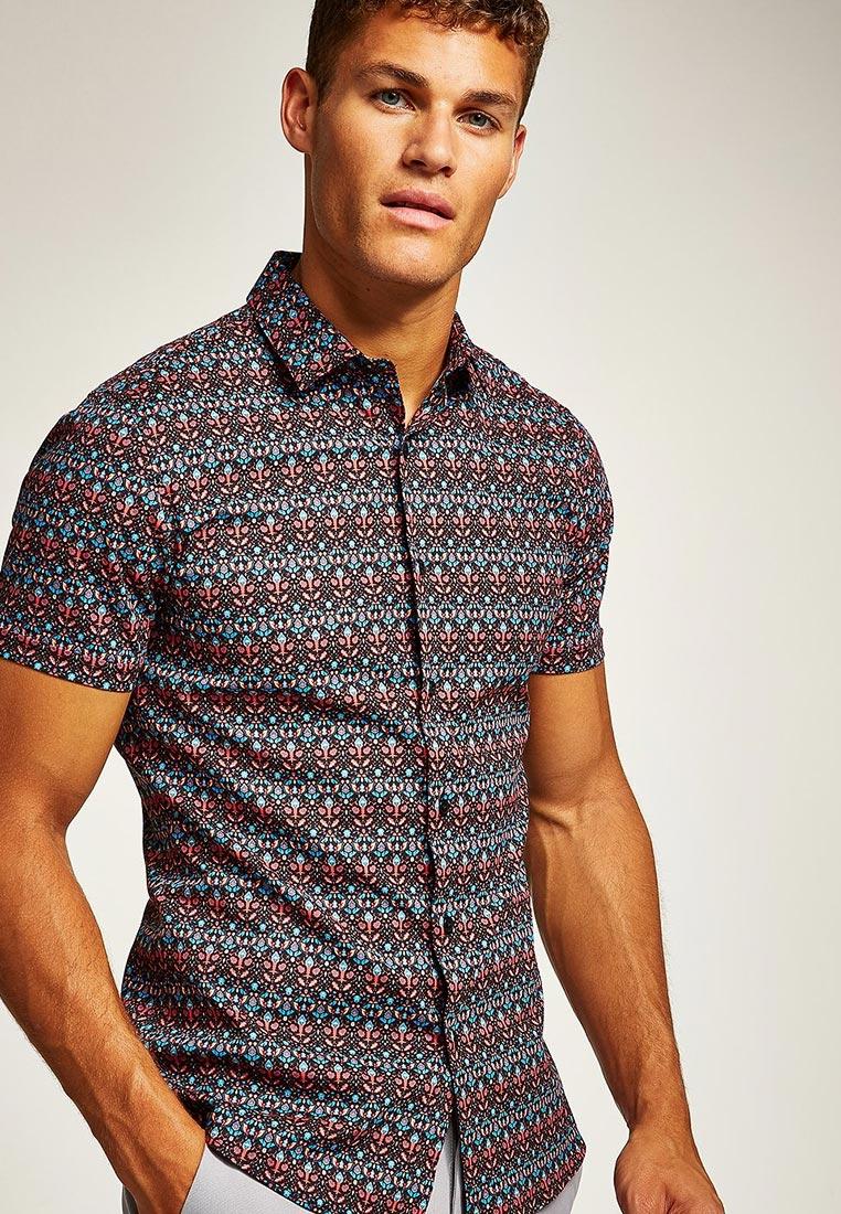 Рубашка с коротким рукавом Topman (Топмэн) 84B16PMUL