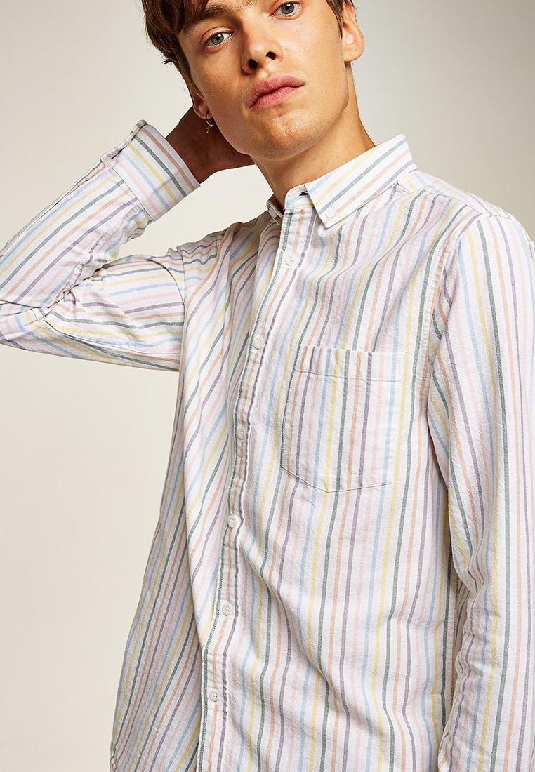Рубашка с длинным рукавом Topman (Топмэн) 83U24OMUL