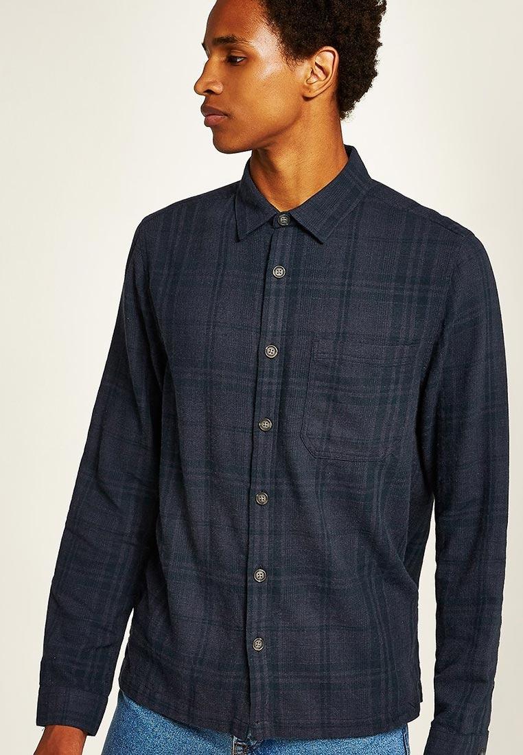 Рубашка с длинным рукавом Topman (Топмэн) 83C16PGRY