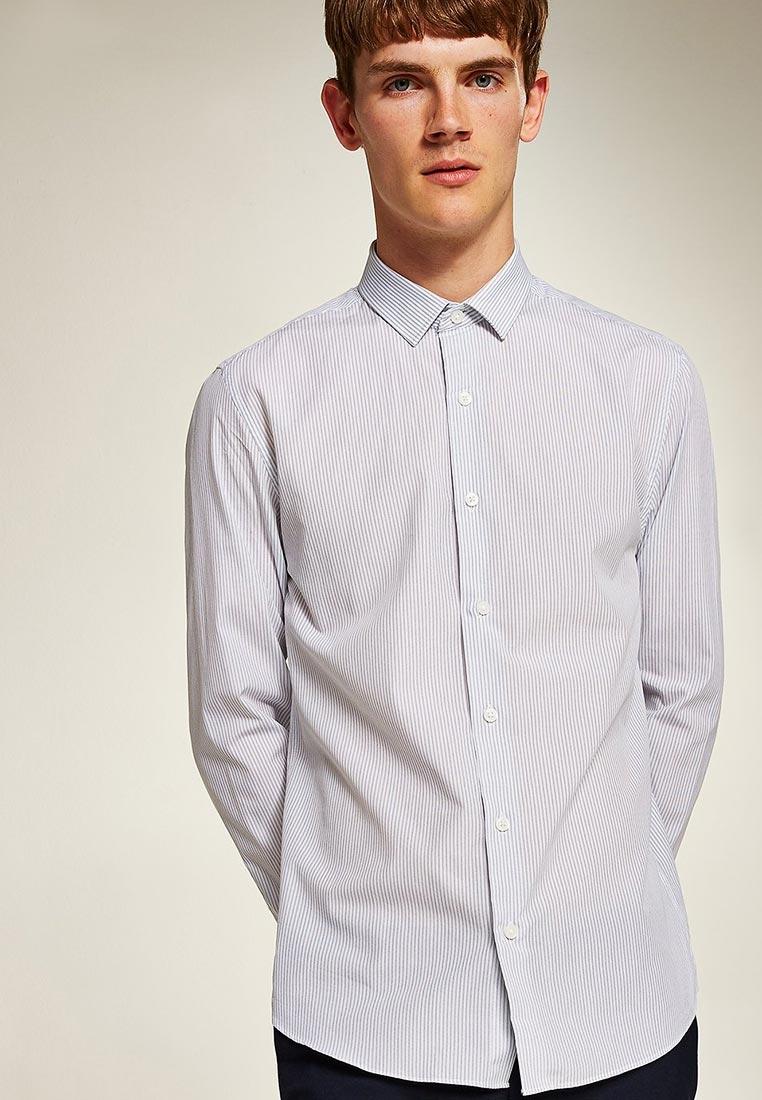 Рубашка с длинным рукавом Topman (Топмэн) 84B11PNAV