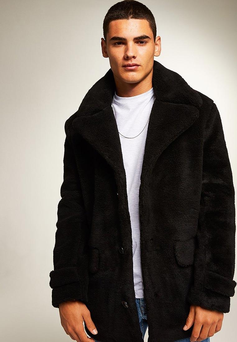 Мужские пальто Topman (Топмэн) 64M01RBLK