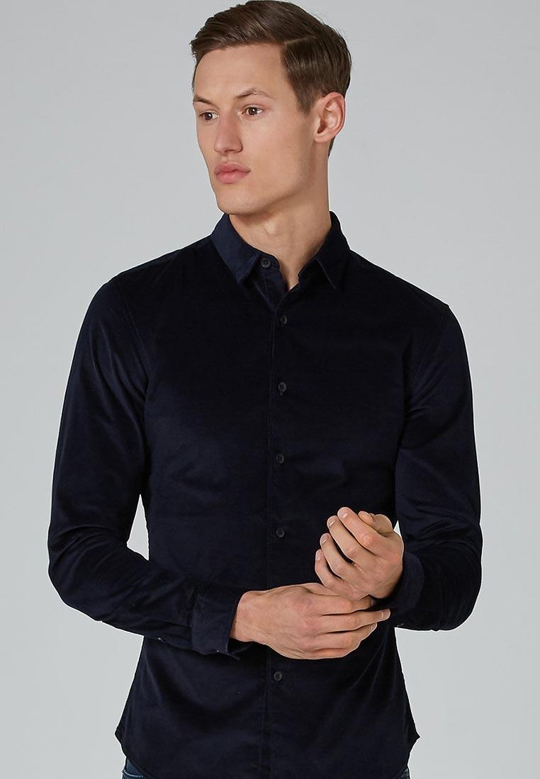 Рубашка с длинным рукавом Topman (Топмэн) 83B19ONAV