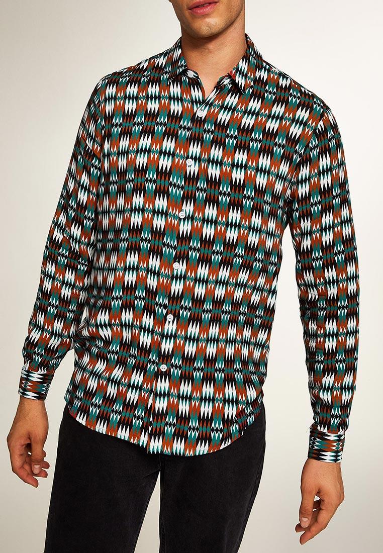 Рубашка с длинным рукавом Topman (Топмэн) 83U39OTEA