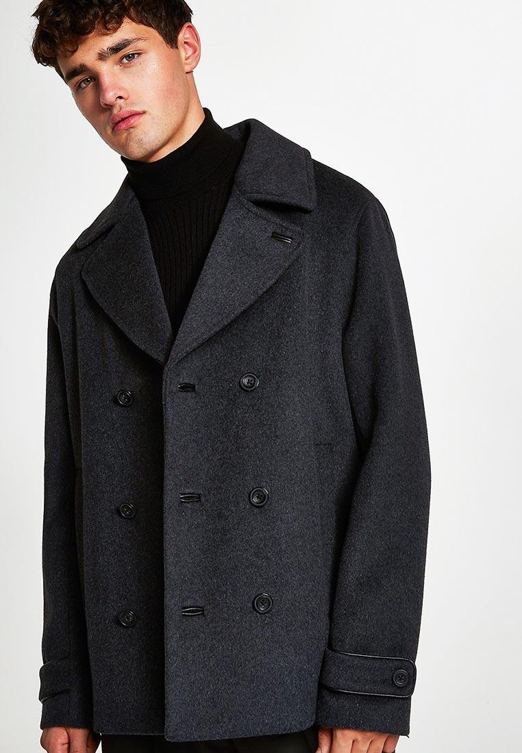 Мужские пальто Topman (Топмэн) 64D05RGRY