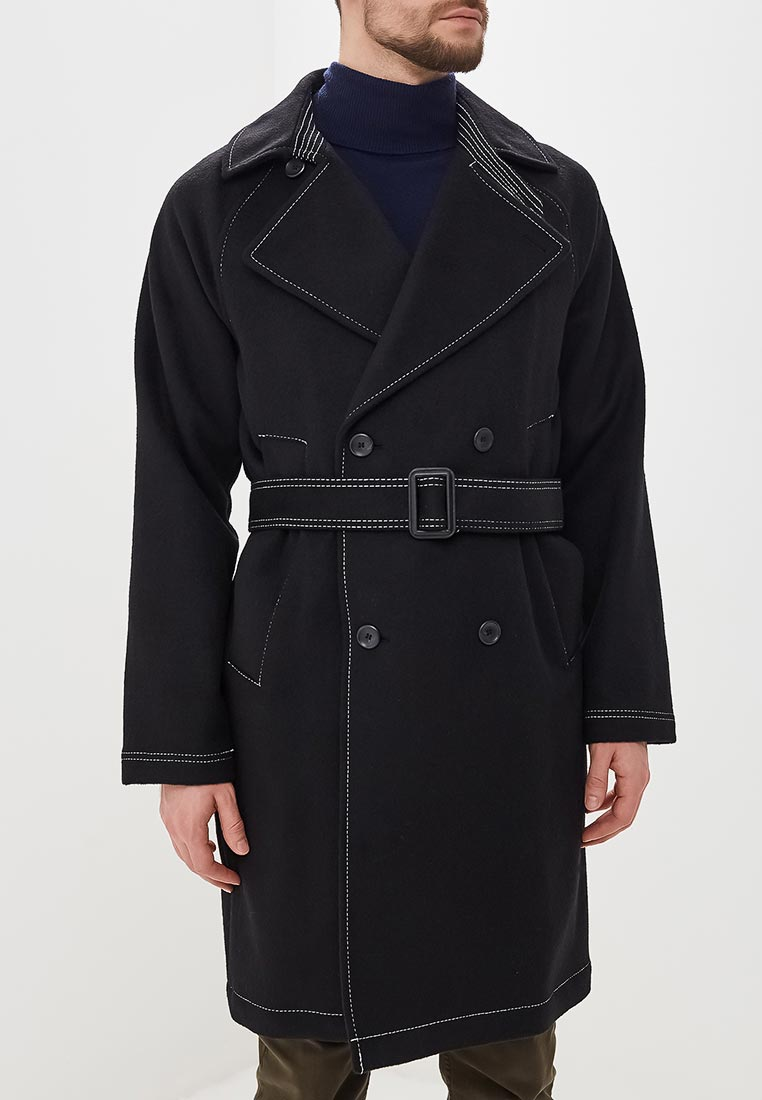 Мужские пальто Topman (Топмэн) 64D14RBLK
