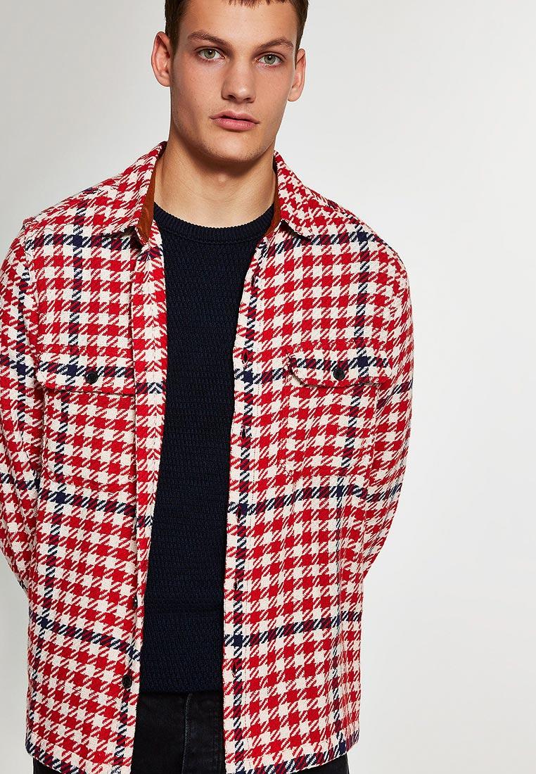Рубашка с длинным рукавом Topman (Топмэн) 83C14PRED