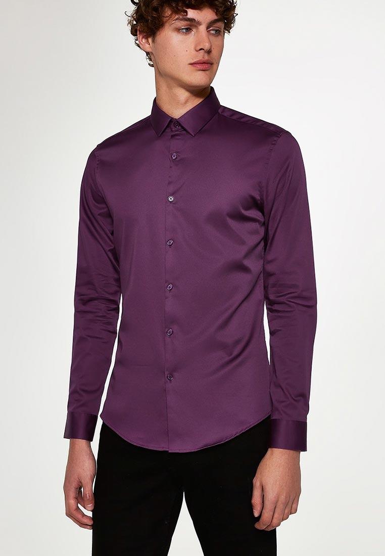 Рубашка с длинным рукавом Topman (Топмэн) 84P03QBRG
