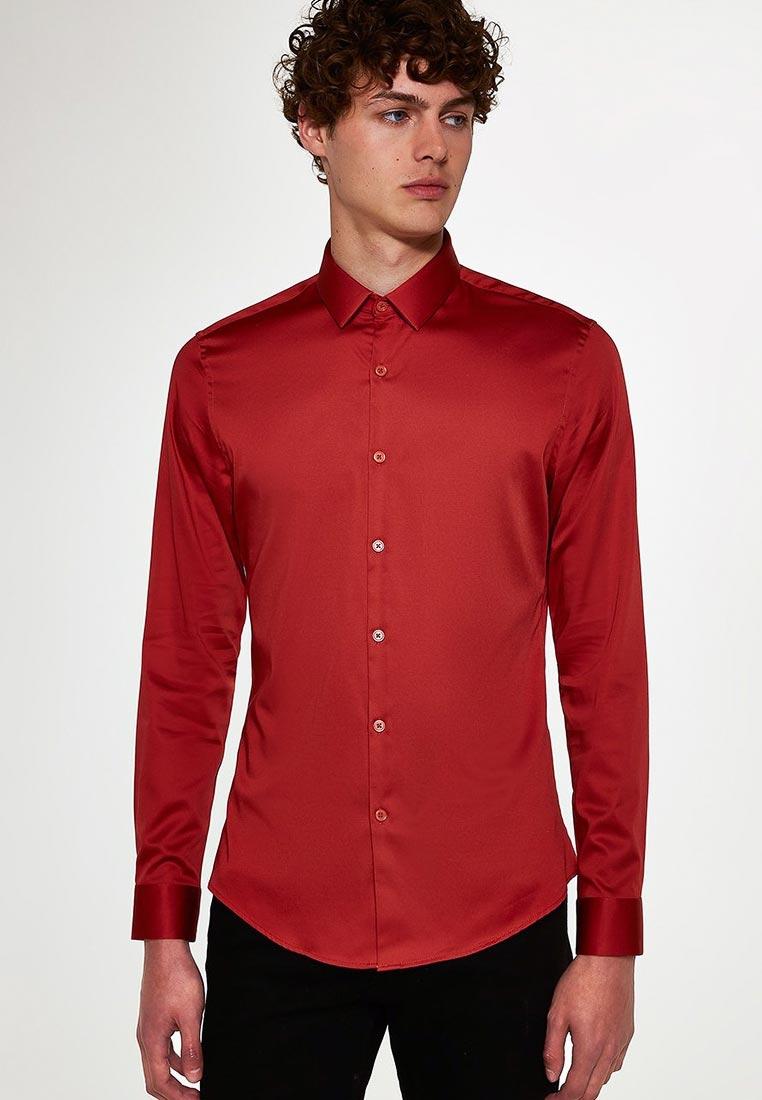 Рубашка с длинным рукавом Topman (Топмэн) 84P05QTAN