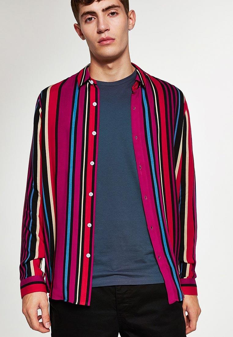 Рубашка с длинным рукавом Topman (Топмэн) 83U59PPNK
