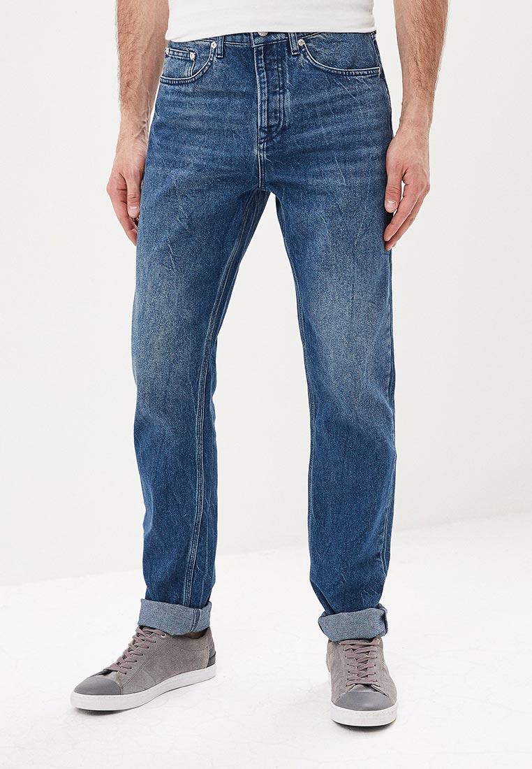 Зауженные джинсы Topman (Топмэн) 69J26RIND