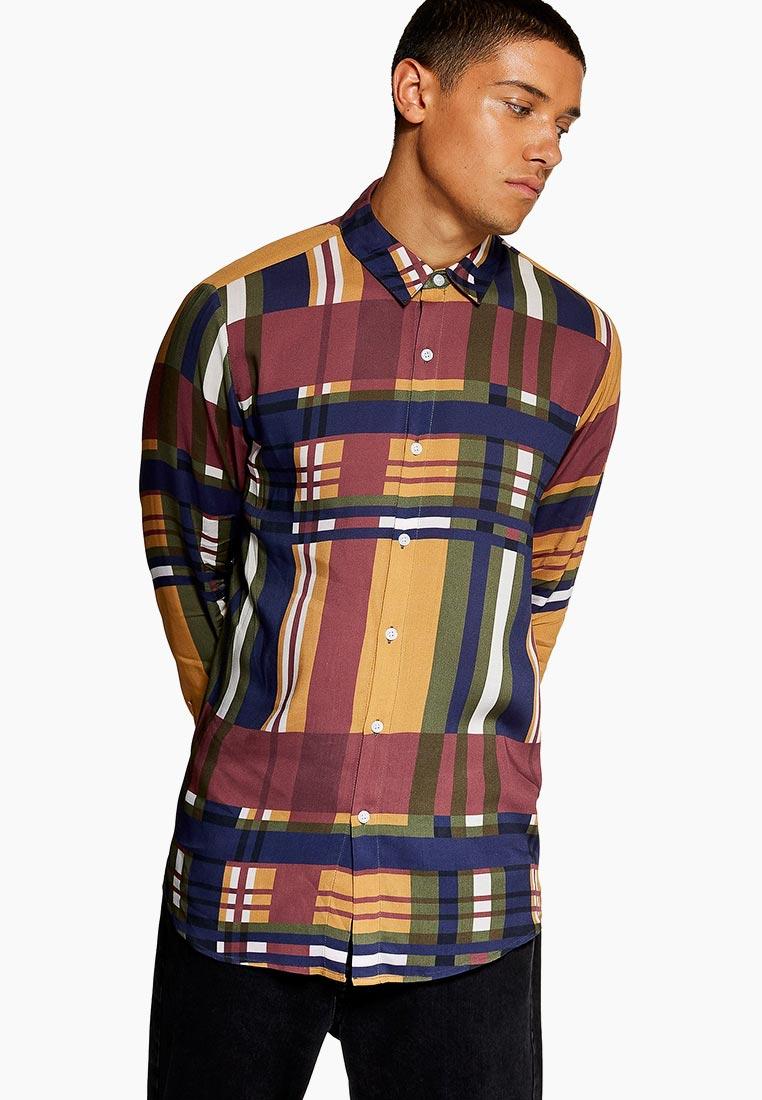Рубашка с длинным рукавом Topman (Топмэн) 83U50PMUL