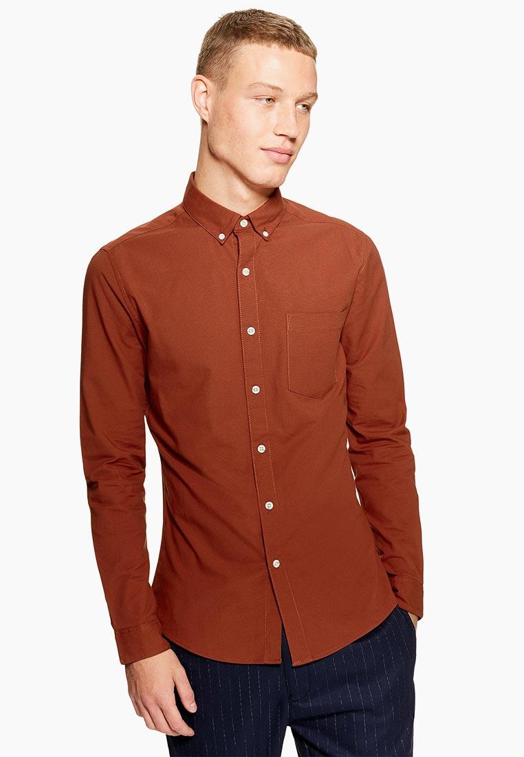 Рубашка с длинным рукавом Topman (Топмэн) 83B29PBRN