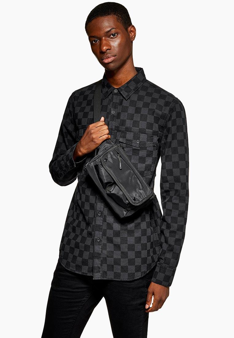 Рубашка с длинным рукавом Topman (Топмэн) 83Q07EBLK