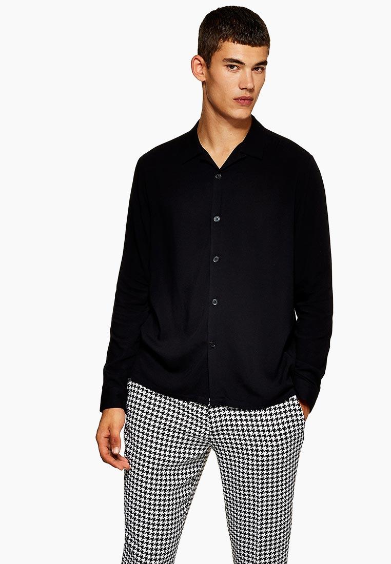 Рубашка с длинным рукавом Topman (Топмэн) 83Q04PBLK