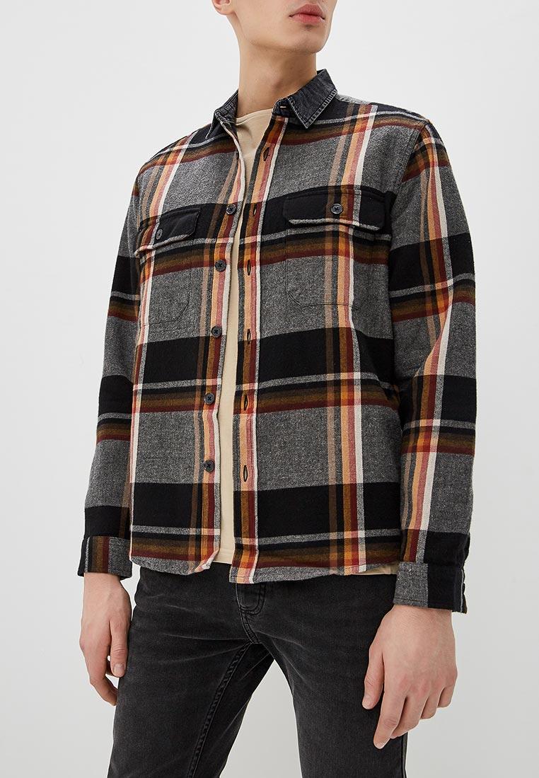 Рубашка с длинным рукавом Topman (Топмэн) 83Q03CGRY