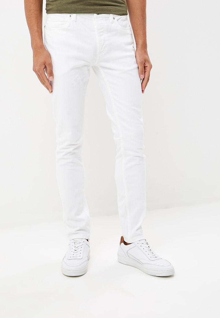 Зауженные джинсы Topman (Топмэн) 69F15RWHT
