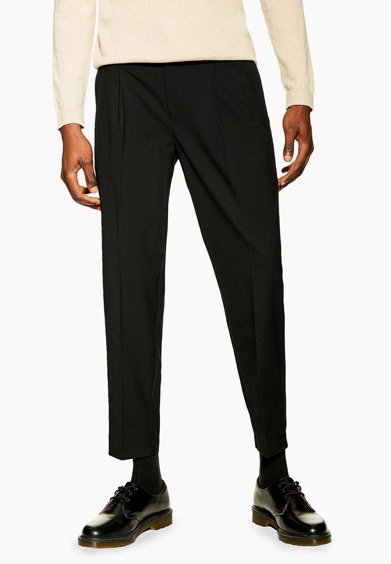 Мужские зауженные брюки Topman (Топмэн) 88E03SBLK