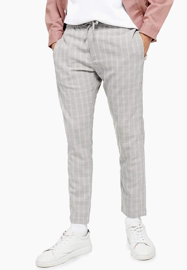 Мужские повседневные брюки Topman (Топмэн) 68F75SGRY