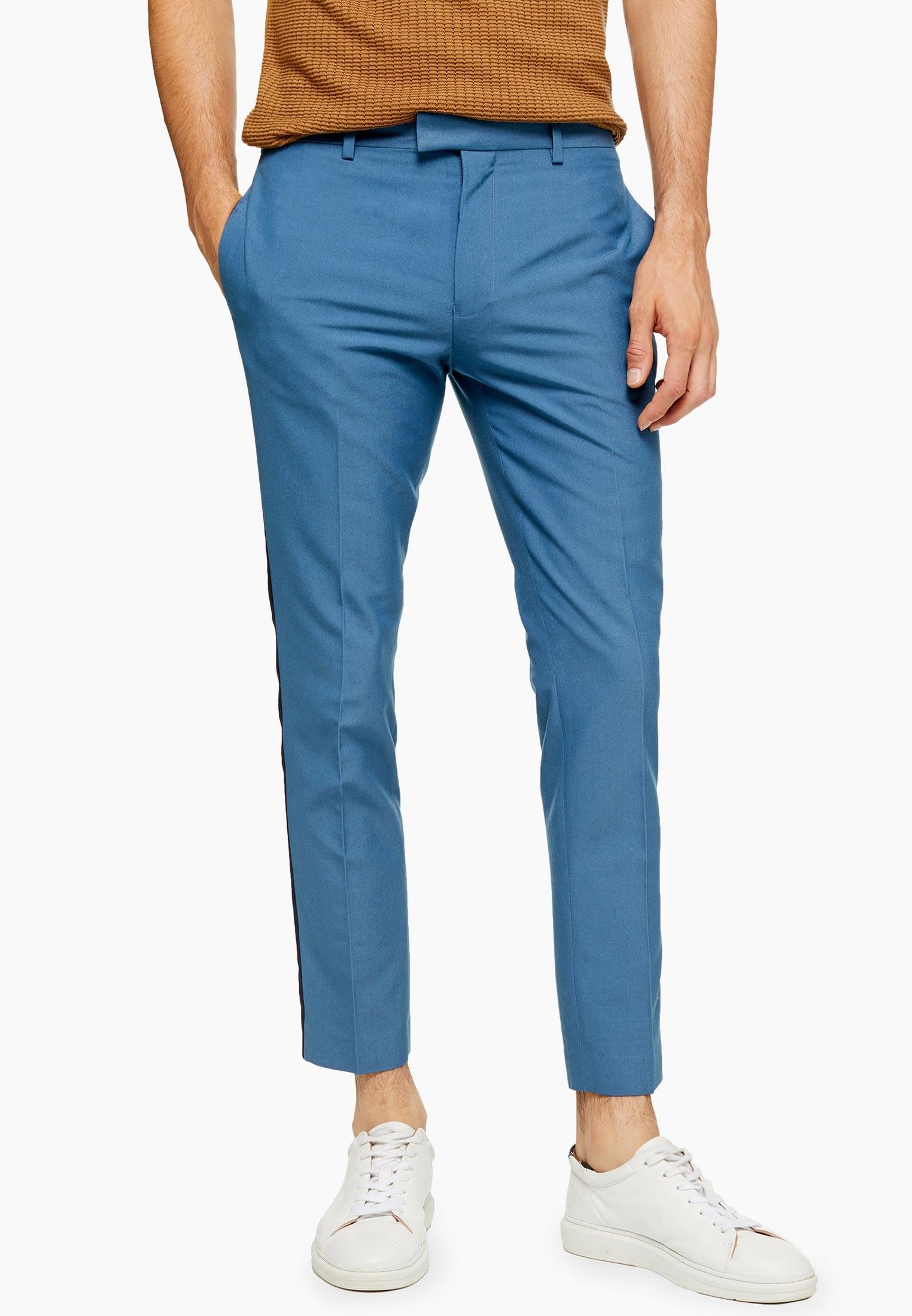 Мужские повседневные брюки Topman (Топмэн) 88D06TBLE