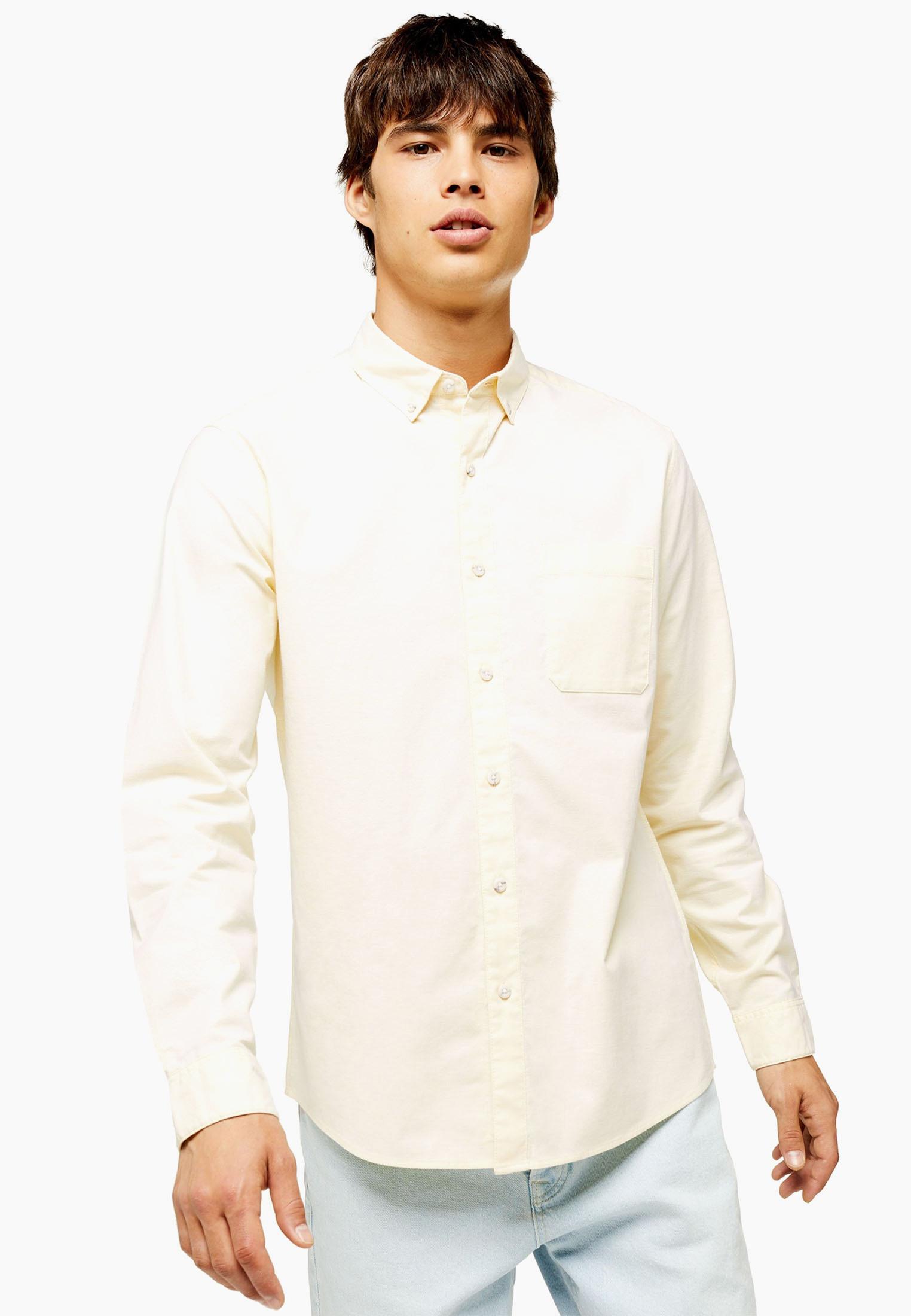 Рубашка с длинным рукавом Topman (Топмэн) 83R14BYLW