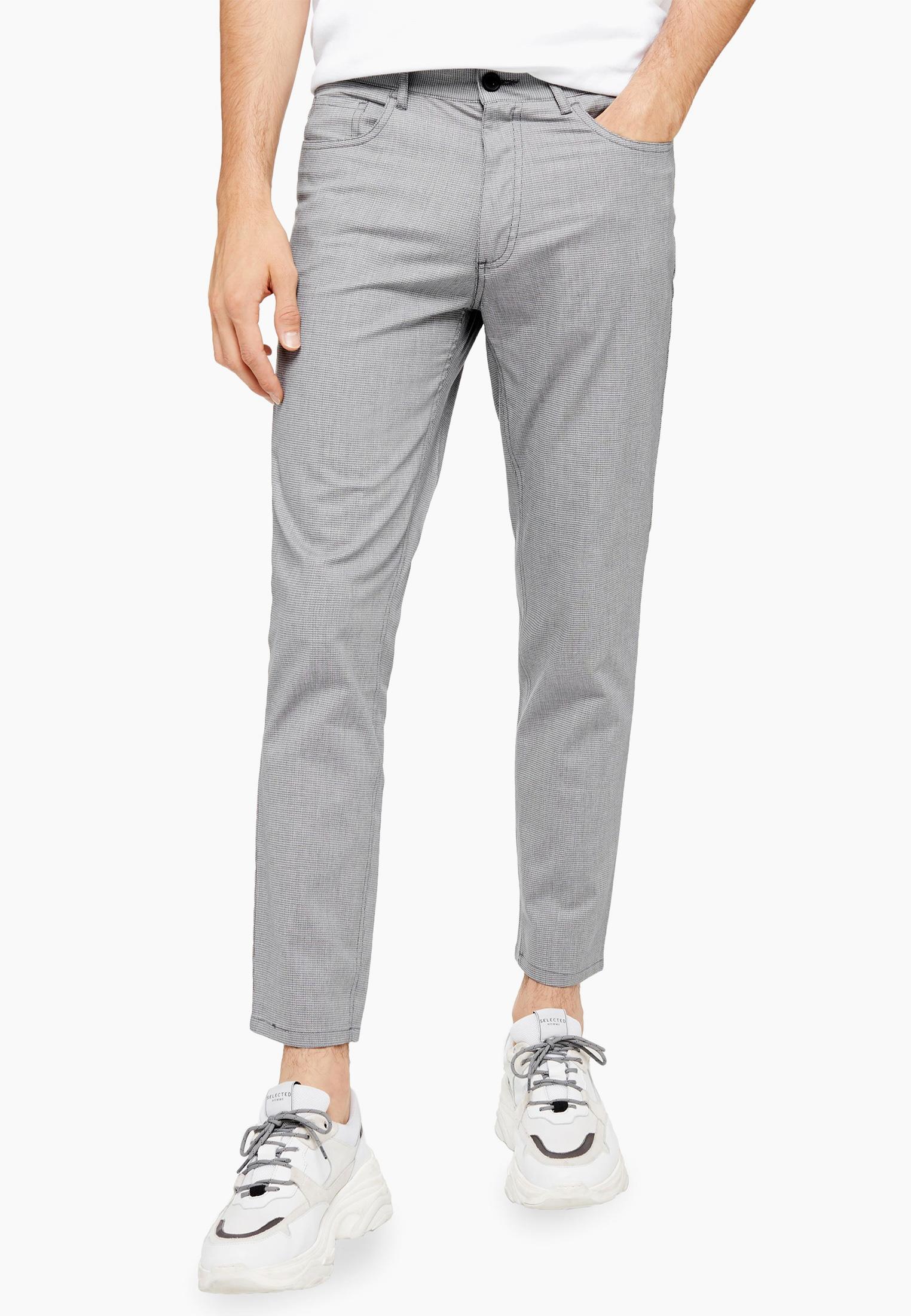 Мужские повседневные брюки Topman (Топмэн) 68F91SGRY