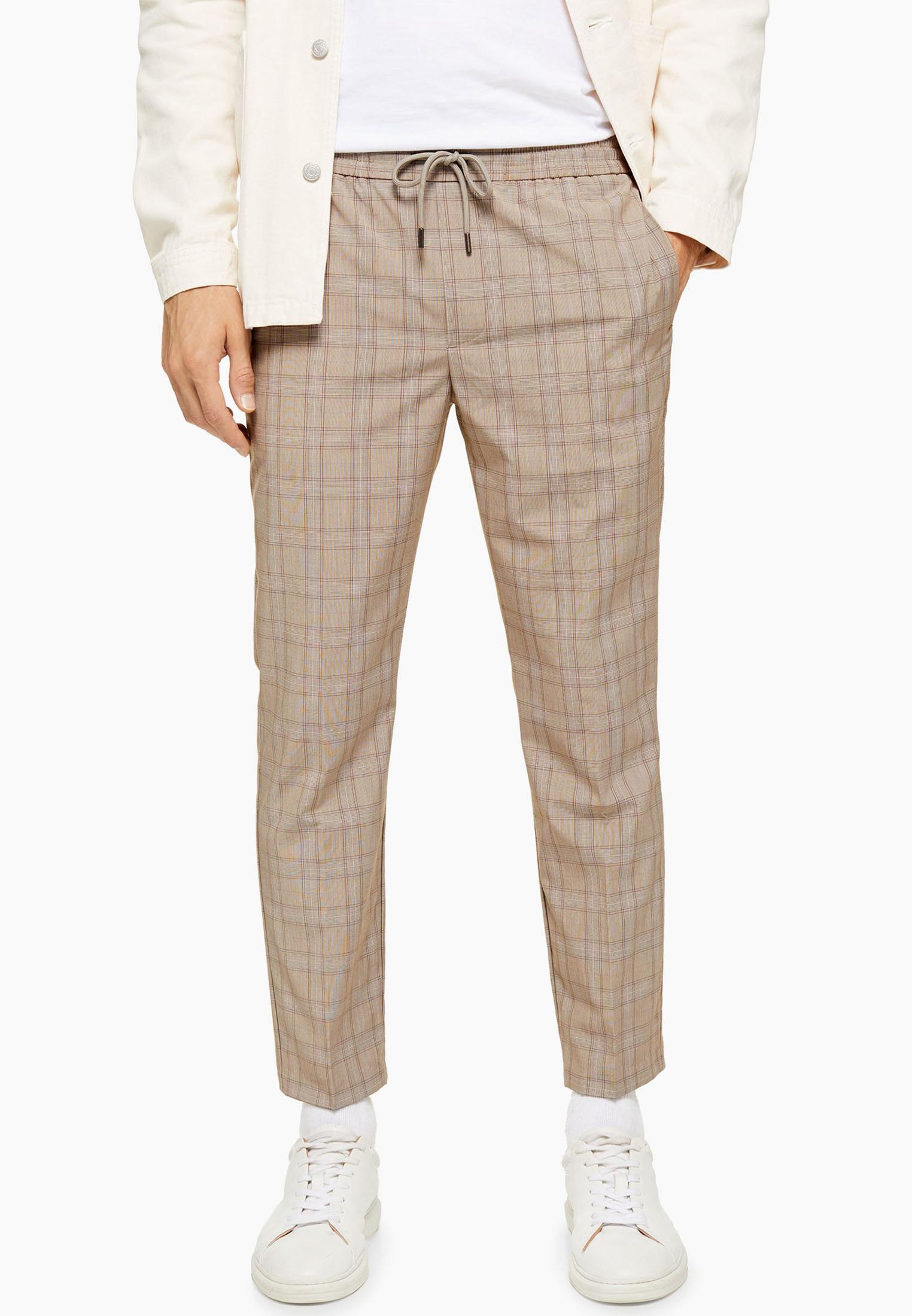 Мужские повседневные брюки Topman (Топмэн) 88D01TSTN