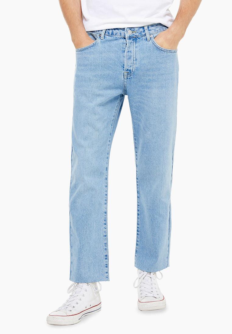 Мужские прямые джинсы Topman (Топмэн) 69J62TLST