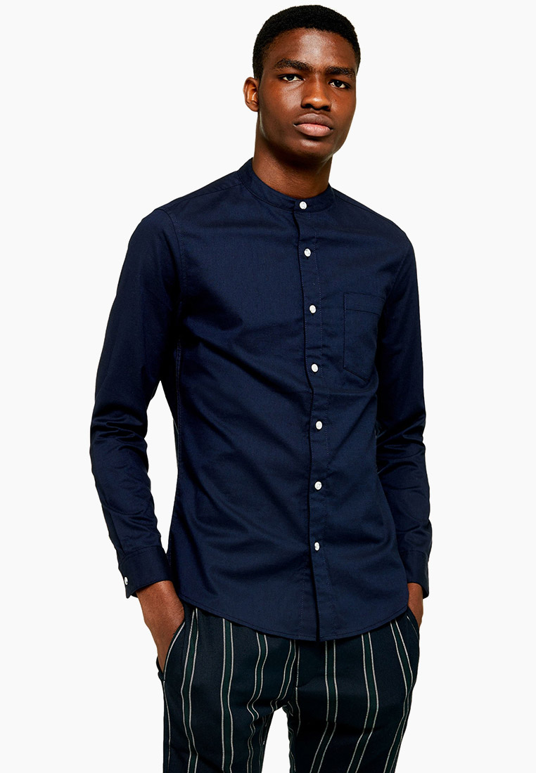 Рубашка с длинным рукавом Topman (Топмэн) 83R06BNAV