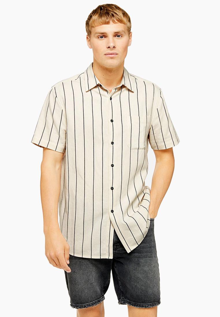 Рубашка с длинным рукавом Topman (Топмэн) 83S01SECR