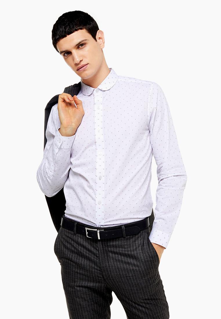 Рубашка с длинным рукавом Topman (Топмэн) 84C27QWHT
