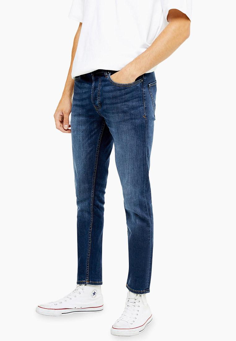Зауженные джинсы Topman (Топмэн) 69F18SLST
