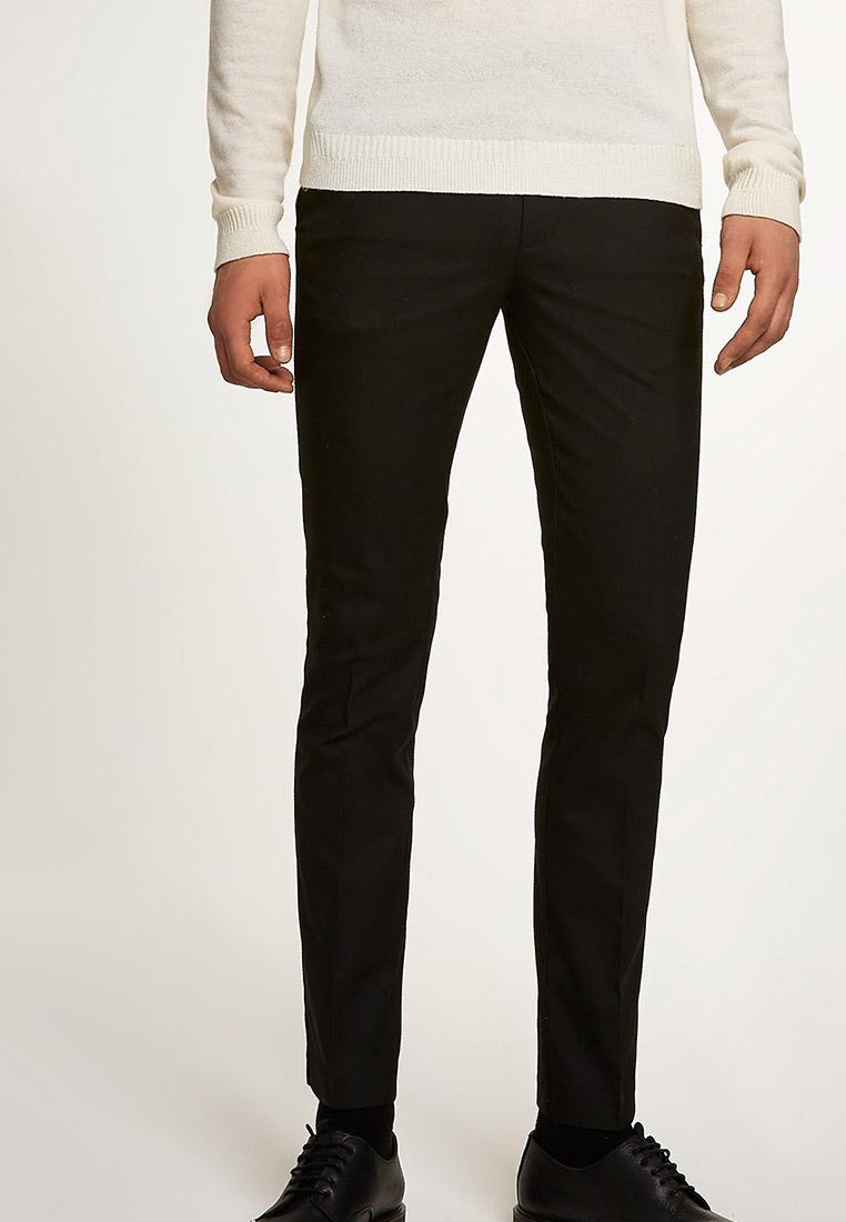 Мужские повседневные брюки Topman (Топмэн) 88E01QBLK