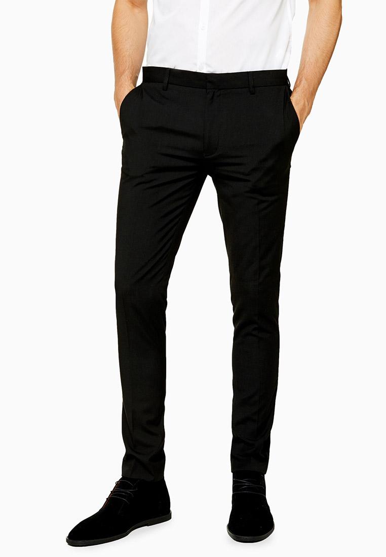 Мужские классические брюки Topman (Топмэн) 88E00QBLK