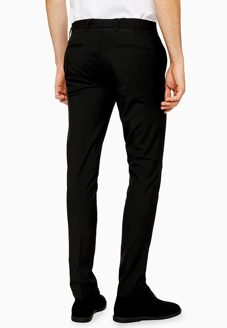 Мужские классические брюки Topman (Топмэн) 88E00QBLK: изображение 3
