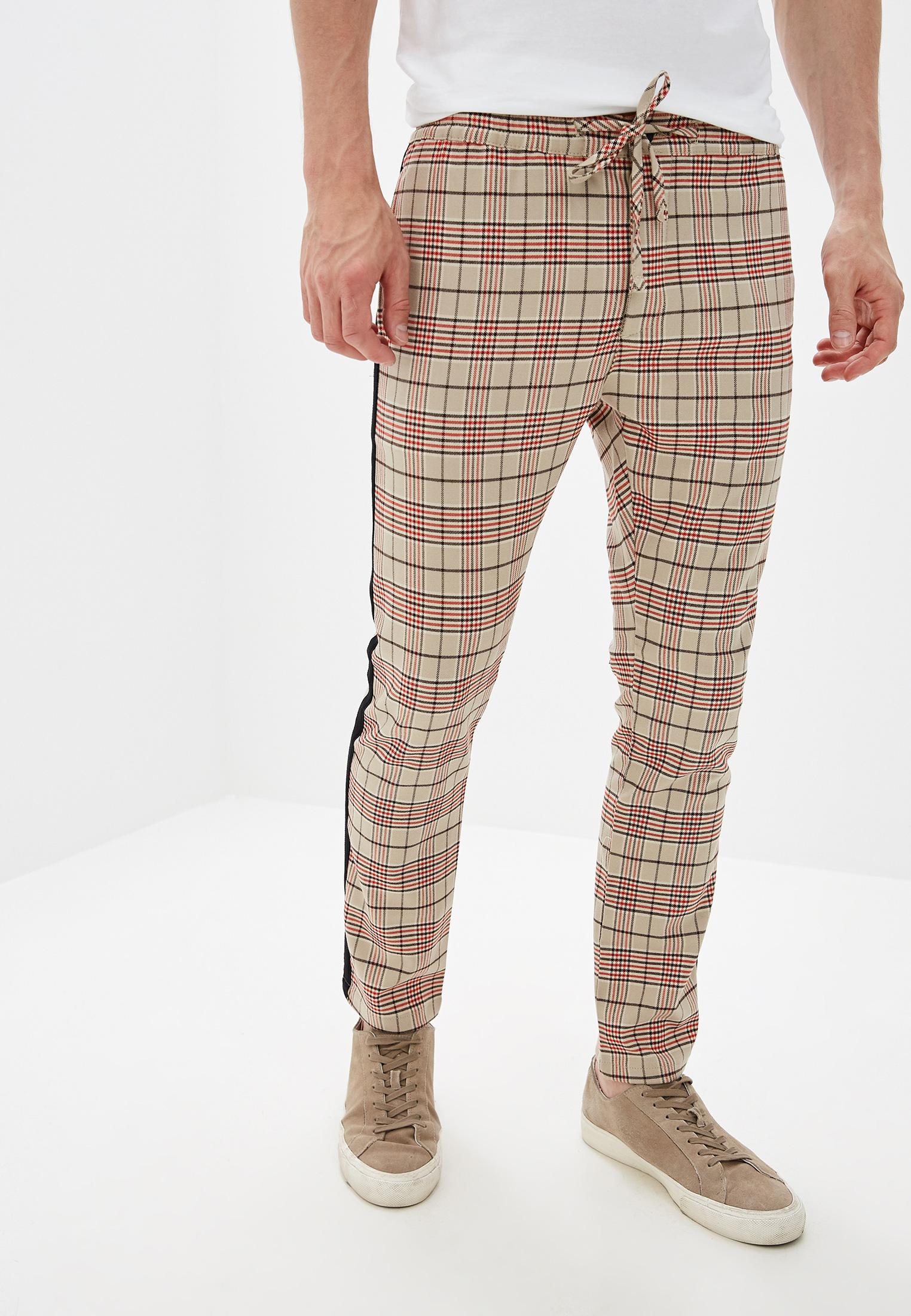 Мужские зауженные брюки Topman (Топмэн) 68F45TSTN