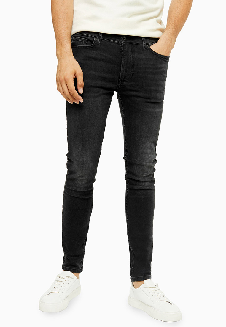 Зауженные джинсы Topman (Топмэн) 69D82TWBL