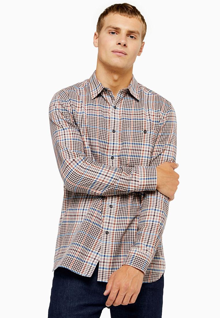 Рубашка с длинным рукавом Topman (Топмэн) 83S02CPNK