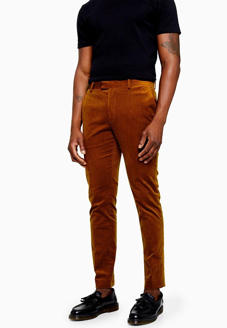 Мужские повседневные брюки Topman (Топмэн) 87T43TBRN
