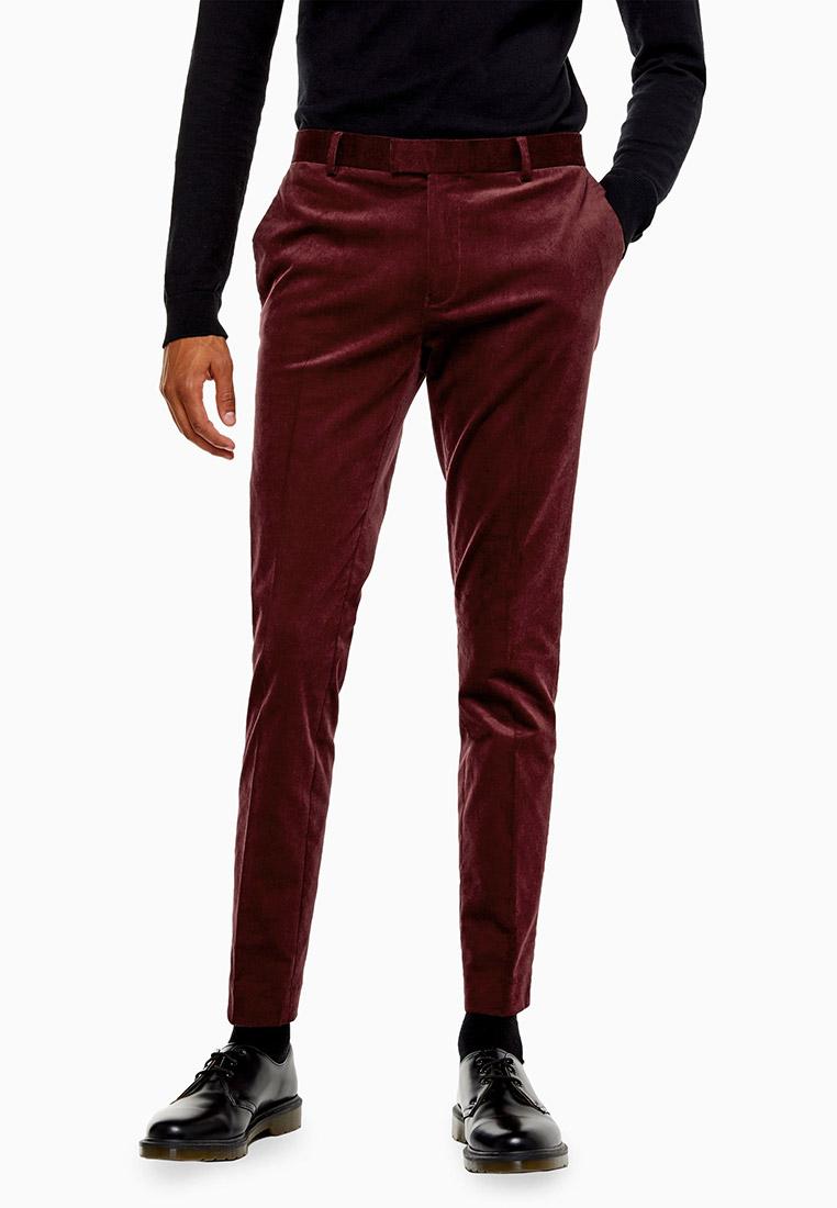 Мужские зауженные брюки Topman (Топмэн) 87T42TBRG